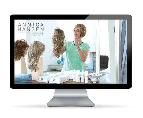 Annica Hansen Perückenkollektion