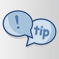 Tips - Tricks